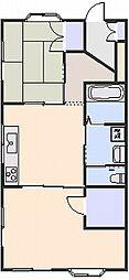 ブルーメンハウス[101号室]の間取り