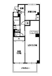 Grand toit(グラン トワ)[1階]の間取り