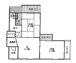 大間木アパート[2階]の間取り