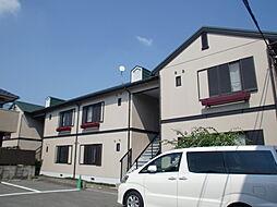 京都府京都市山科区東野百拍子町の賃貸アパートの外観