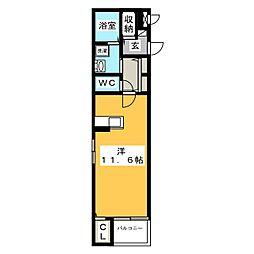 ノーヴァ[2階]の間取り