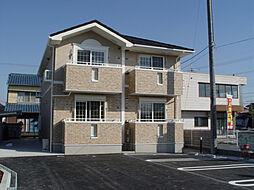 兵庫県姫路市白浜町字今道甲の賃貸アパートの外観