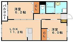 仮称 本城新築マンション[4階]の間取り