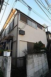 東京都新宿区高田馬場3丁目の賃貸アパートの外観
