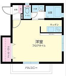 新築 アレイムK[202号室号室]の間取り