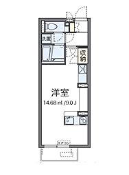 ミランダNOWA[2階]の間取り