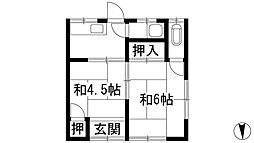 [テラスハウス] 兵庫県川西市東久代1丁目 の賃貸【兵庫県 / 川西市】の間取り