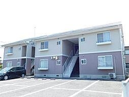 福岡県北九州市小倉南区上曽根3丁目の賃貸アパートの外観
