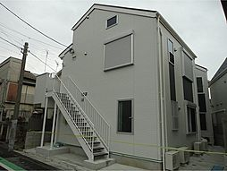 東京都葛飾区宝町1丁目の賃貸アパートの外観