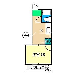 センチュリーハイツ[3階]の間取り
