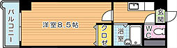 アリビオ黒崎[3階]の間取り