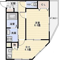 パソヘンテ[2階]の間取り