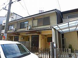 [タウンハウス] 大阪府大阪市阿倍野区文の里4丁目 の賃貸【/】の外観