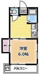 第二栄荘[208号室号室]の間取り