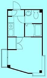 グランデハイツ[2階]の間取り
