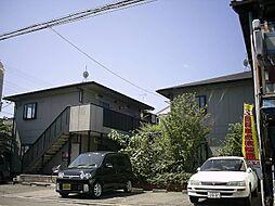 京都府京都市下京区二人司町の賃貸アパートの外観