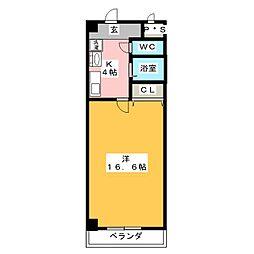 ファーブルハイム[2階]の間取り