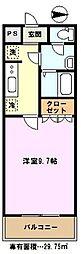 埼玉県川口市安行慈林の賃貸アパートの間取り