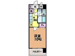 愛媛県松山市東石井7丁目の賃貸マンションの間取り
