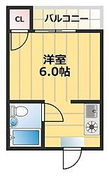 エスポワール深江[2階]の間取り