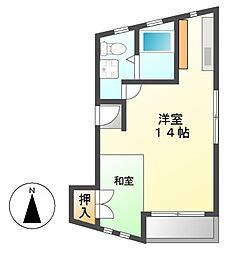 Mnet2[3階]の間取り