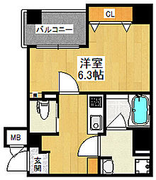 Grandi甲子園Park5[503号室]の間取り