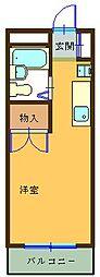 瀬川ビル[106号室]の間取り