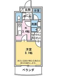 ベル・フラワー[2階]の間取り