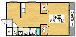 アルモカーサ新金岡[1階]の間取り