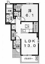 サン・クオーレ[1階]の間取り