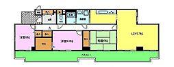 アメニティ長野16棟[2階]の間取り