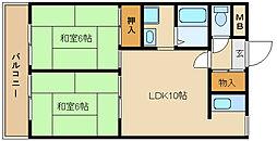 ル・ボオン21[3階]の間取り