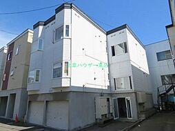 北海道札幌市東区北三十一条東2丁目の賃貸アパートの外観