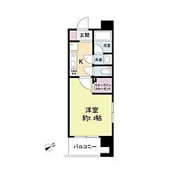 アーデンタワー神戸元町[0901号室]の間取り