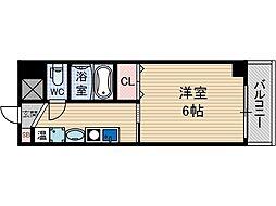 ドロメンスカセ三番館[5階]の間取り