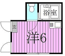 コンフォート北綾瀬[1階]の間取り