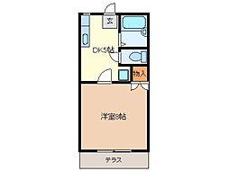 シーサイドフジ[1階]の間取り