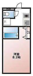 愛知県安城市明治本町の賃貸マンションの間取り