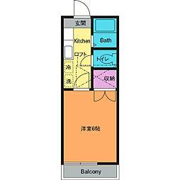 ハウス・マルベリー[2階]の間取り