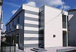 大阪府茨木市庄1丁目の賃貸アパートの外観
