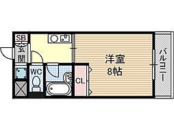 ピアフォルテ[3階]の間取り