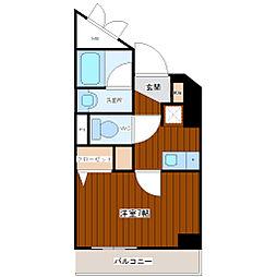 ラナップスクエア東梅田[7階]の間取り