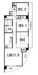 EAST−1[7階]の間取り