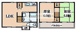[一戸建] 大阪府堺市東区日置荘西町5丁 の賃貸【/】の間取り