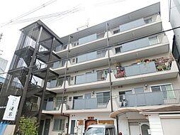 大阪府大阪市東住吉区住道矢田6丁目の賃貸マンションの外観