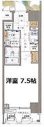 エスライズ京町堀[10階]の間取り