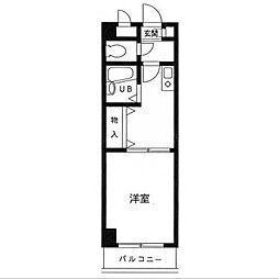 第12笠原ビル[4階]の間取り