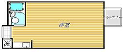 トップ早稲田[4階]の間取り