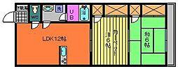 ハイム内山[305号室]の間取り