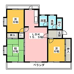 ボウマノワール[2階]の間取り